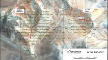 Aldebaran Intercepts 63 m of 0.94% CuEq and 584 m of 0.52% CuEq in Hole ALD-21-217 at the Altar Project