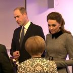 Prince William and Kate meet Holocaust survivors ahead of UK memorial ceremony