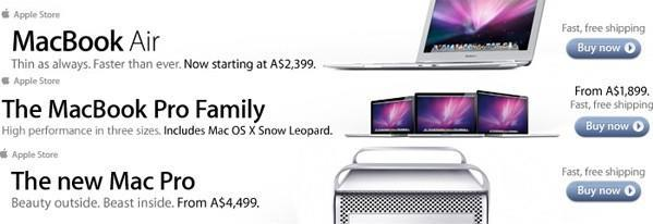 New MacBook Pro, Air and Mac Pro pricing potentially leaked by Apple ads and online store (updated)