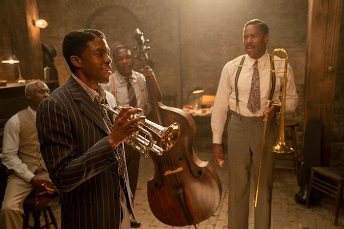 Chadwick Boseman in Netflix's 'Ma Rainey's Black Bottom'