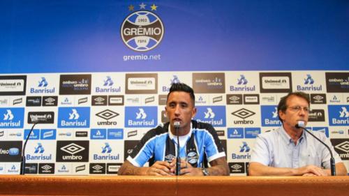 Barrios avalia estreia no Grêmio e vislumbra jogo pela Libertadores