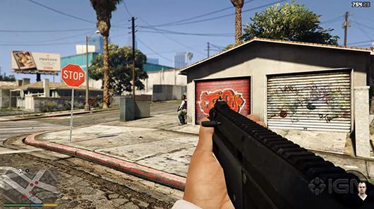 Grand Theft Auto 5 commits to first-person on PS4, XB1, PC