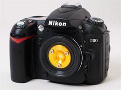 Nikon and Canon DSLRs grab their own pinhole lens covers