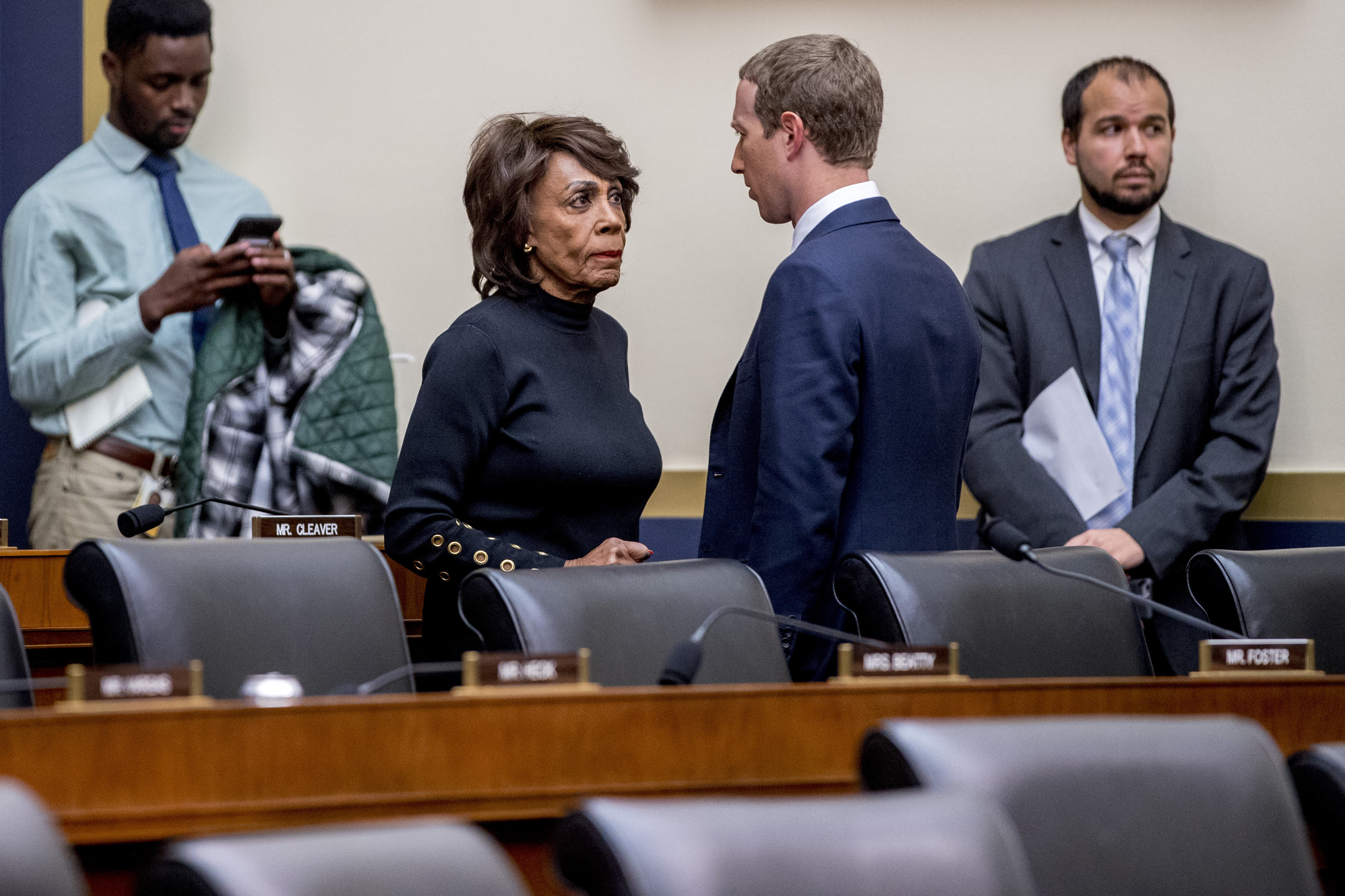 Rep. Maxine Waters: Concerns Over Facebook's Libra Are Far From Settled
