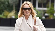 Shop Amanda Holden's affordable slogan jumper from Heart Breakfast radio show