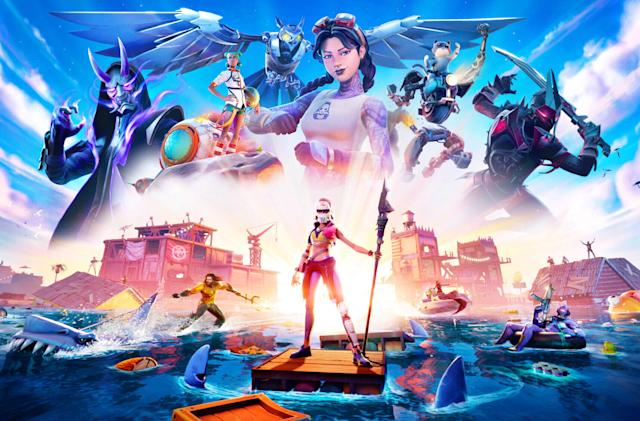 'Fortnite' Chapter 2 Season 3 features Aquaman and rideable sharks