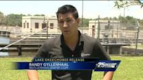 Army Corps of Engineers releases water from Lake Okeechobee