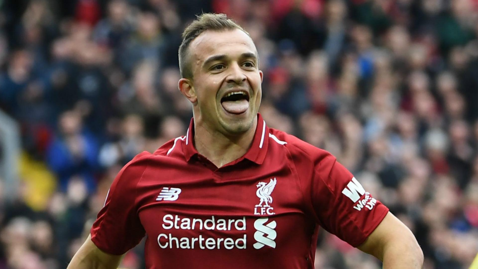 Shaqiri Exceeds Klopp's Expectations And Is Tipped Be