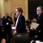 Marie Yovanovitch receives standing ovation at Washington jazz club after impeachment testimony