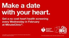 "CVS Health Offering No Cost ""Know Your Numbers"" Heart Health Screenings As Part of Its National Support of American Heart Association's Go Red For Women® Movement"