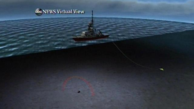 Ships search for Malaysia Flight 370 black boxes