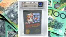 Super Mario Bros cartridge sells for $140K