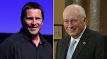 Christian Bale piles on weight to play Dick Cheney