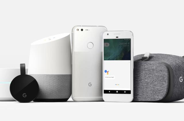 UK pricing for Google's Pixel phones, Daydream VR headset and more
