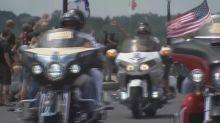 Motorcycles rumble through Washington in honor of missing veterans