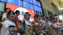 Nikkei tumbles while markets in China, Hong Kong rebound