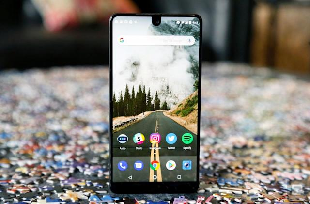 Essential rolls out Android P Beta, despite sale rumors