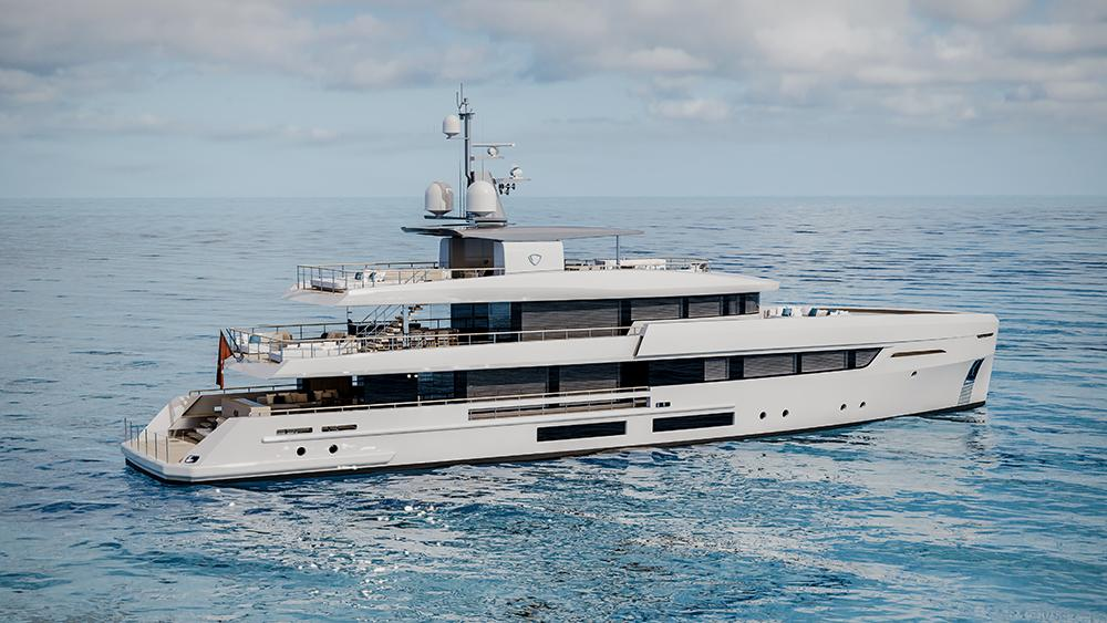 Tankoa's New 148-Foot Superyacht Brings Epic Luxury to a Compact Design