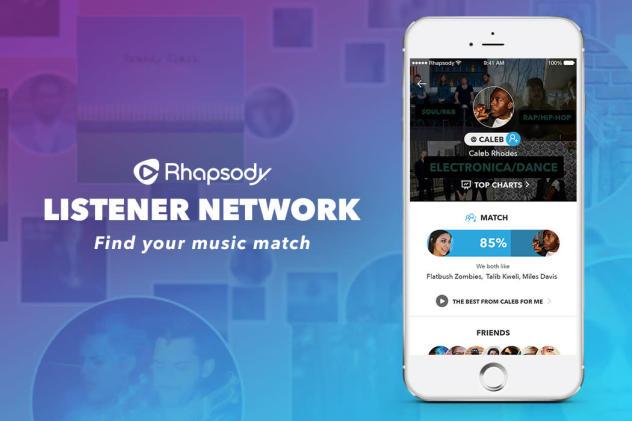 Rhapsody's Listener Network makes finding new music easier