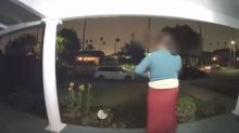'Somebody help me': Doorbell camera captures woman's chilling 'kidnapping'
