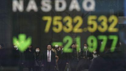 Stocks drop, euro falls after German data miss