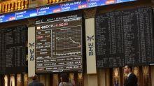 El Ibex 35 vuelve a caer un 3,4% y Wall Street se hunde hasta niveles previos a la victoria de Trump