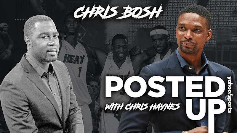 Chris Bosh opens up about his Hall of Fame career, abrupt retirement, his new book and the recent spate of NBA injuries