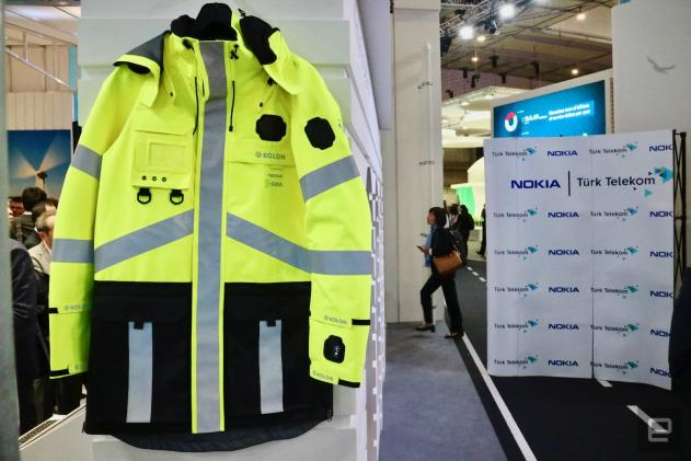 Nokia made a smart, fashionable jacket for first responders