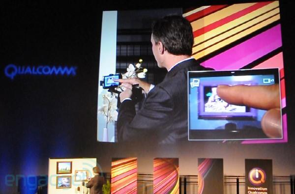 Qualcomm demos augmented reality app for digital photo frames (video)