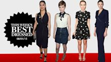Rebecca Ferguson, Kiernan Shipka & More of This Week's Best Dressed.