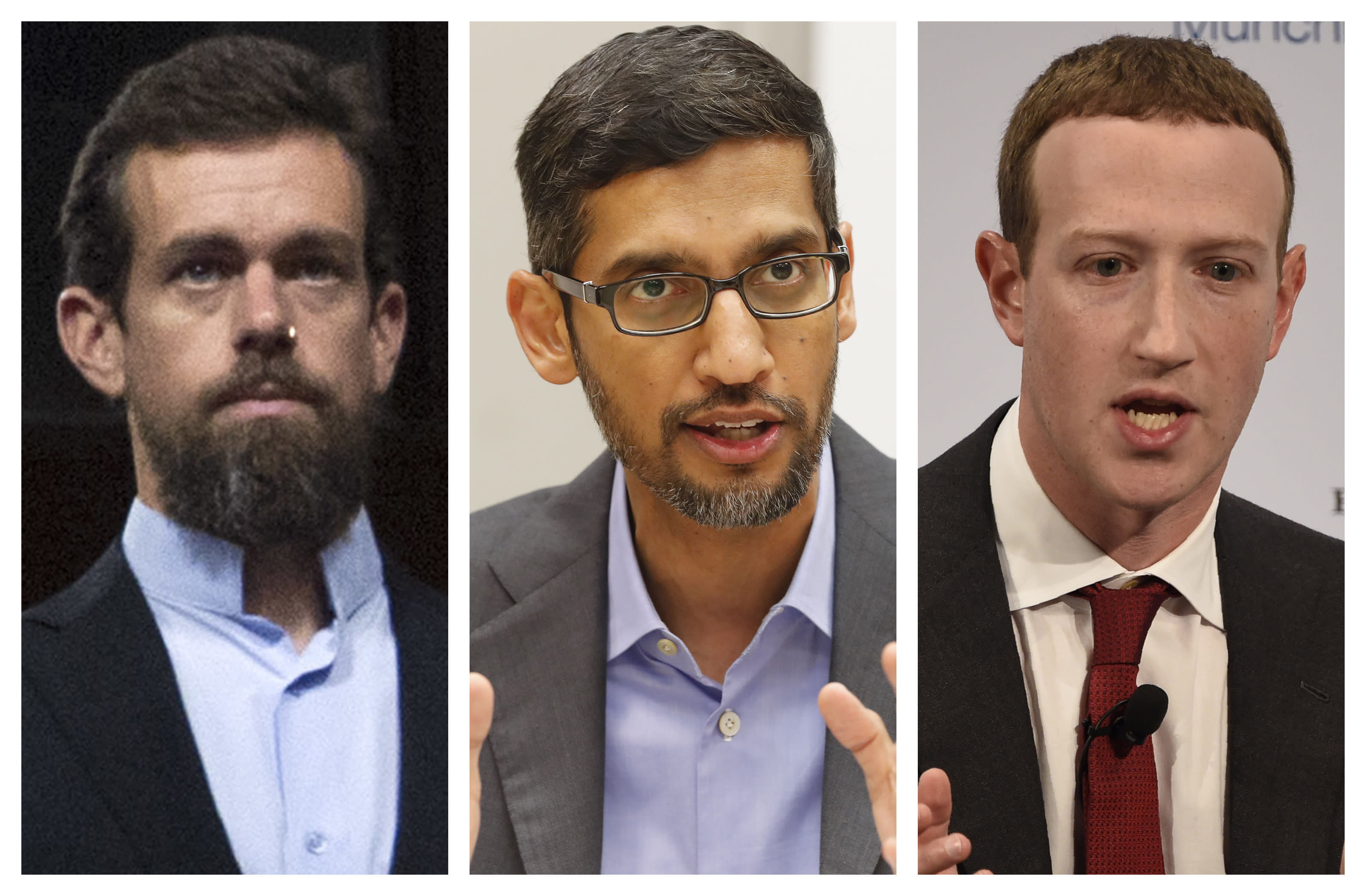 Ceos Of 3 Tech Giants To Testify At Oct 28 Senate Hearing