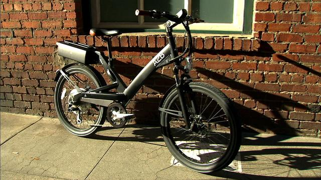 This electric bicycle peps up your pedal power