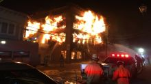 Major fire destroys historic building in downtown Magog