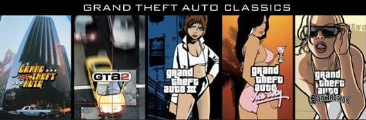 Grand Theft Auto Classics pack on Steam sale