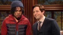 SNL host Chance the Rapper questions Batman's actions