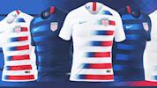 U.S. Soccer reveals new kits for 2018 year