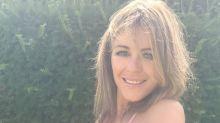 Elizabeth Hurley, 53, hula-hoops in a tiny pink bikini