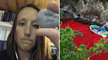 'You listen to them die': Horrific story behind dolphin activist's collection of rocks