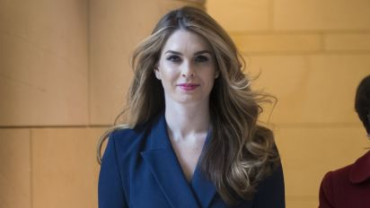 House panel grills ex-Trump aide Hope Hicks