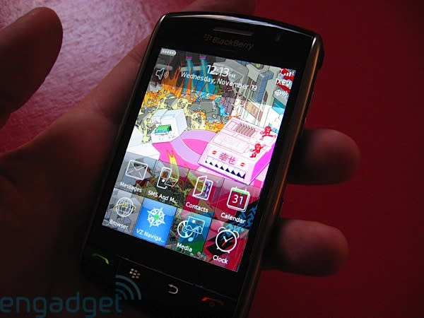 In case you missed our BlackBerry Storm review...