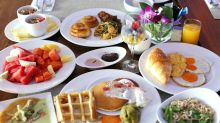 2018 Phuket Trip ☼ 布吉親子玩樂之旅 ☼ Day 5 : 早餐 + 驚險回航篇