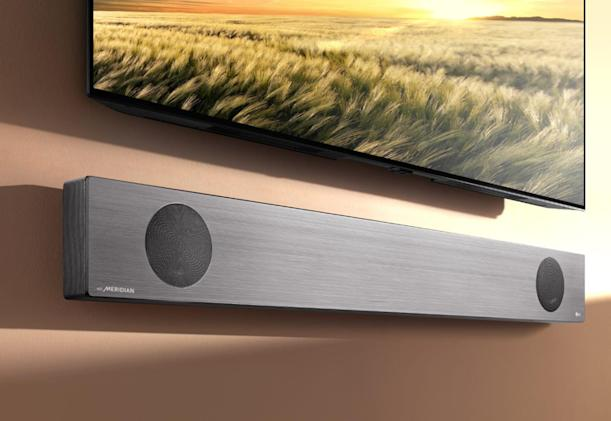 LG's latest sound bars feature Dolby Atmos and Google Assistant