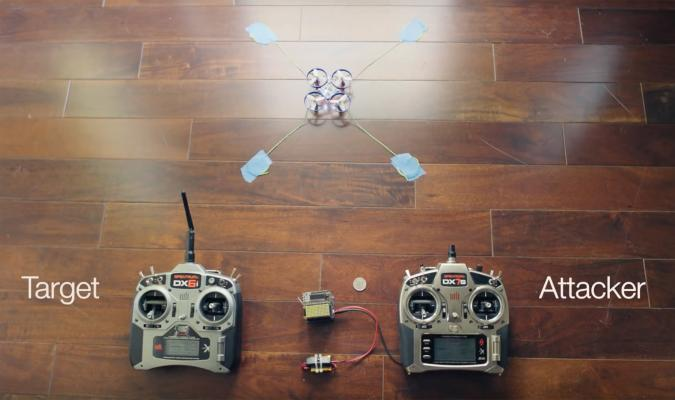 'Icarus' machine can commandeer a drone mid-flight