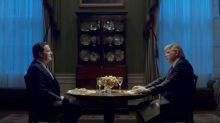 """Brendan Gleeson als Donald Trump in  """"The Comey Rule"""""""