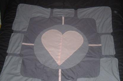 Behold, the unweighted Companion Quilt!