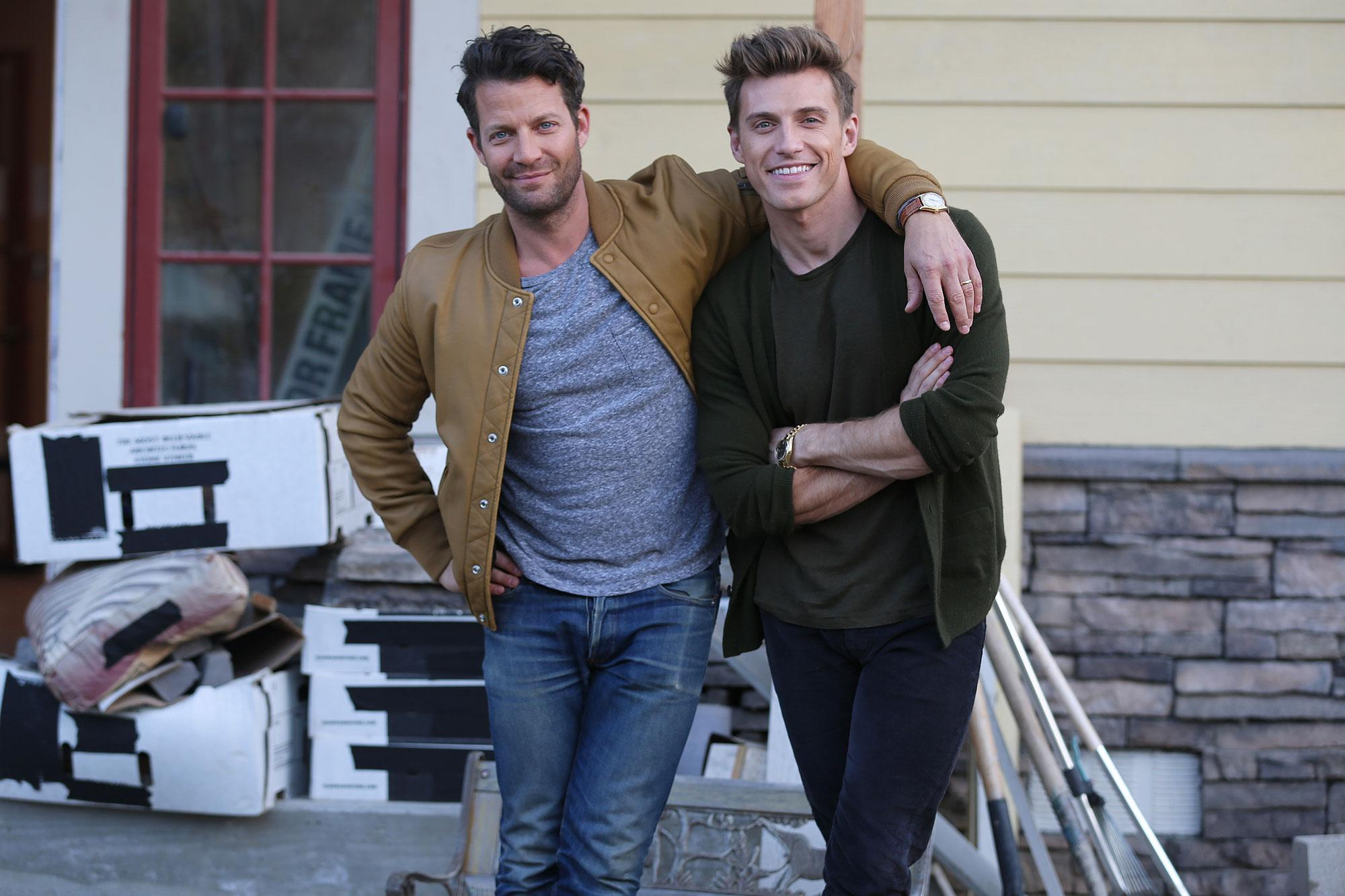 nate berkus and jeremiah brent open up about the. Black Bedroom Furniture Sets. Home Design Ideas