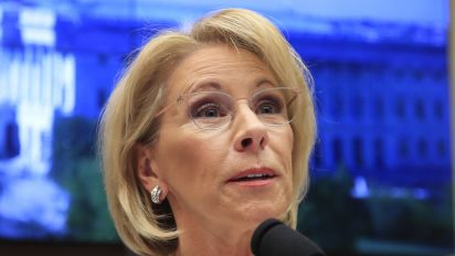 Feds: DeVos used personal email accounts for work