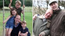 Royals get candid with new photos to mark Prince William's birthday and Father's Day