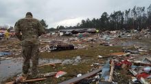 Storms continue slamming U.S. South after killing at least 18