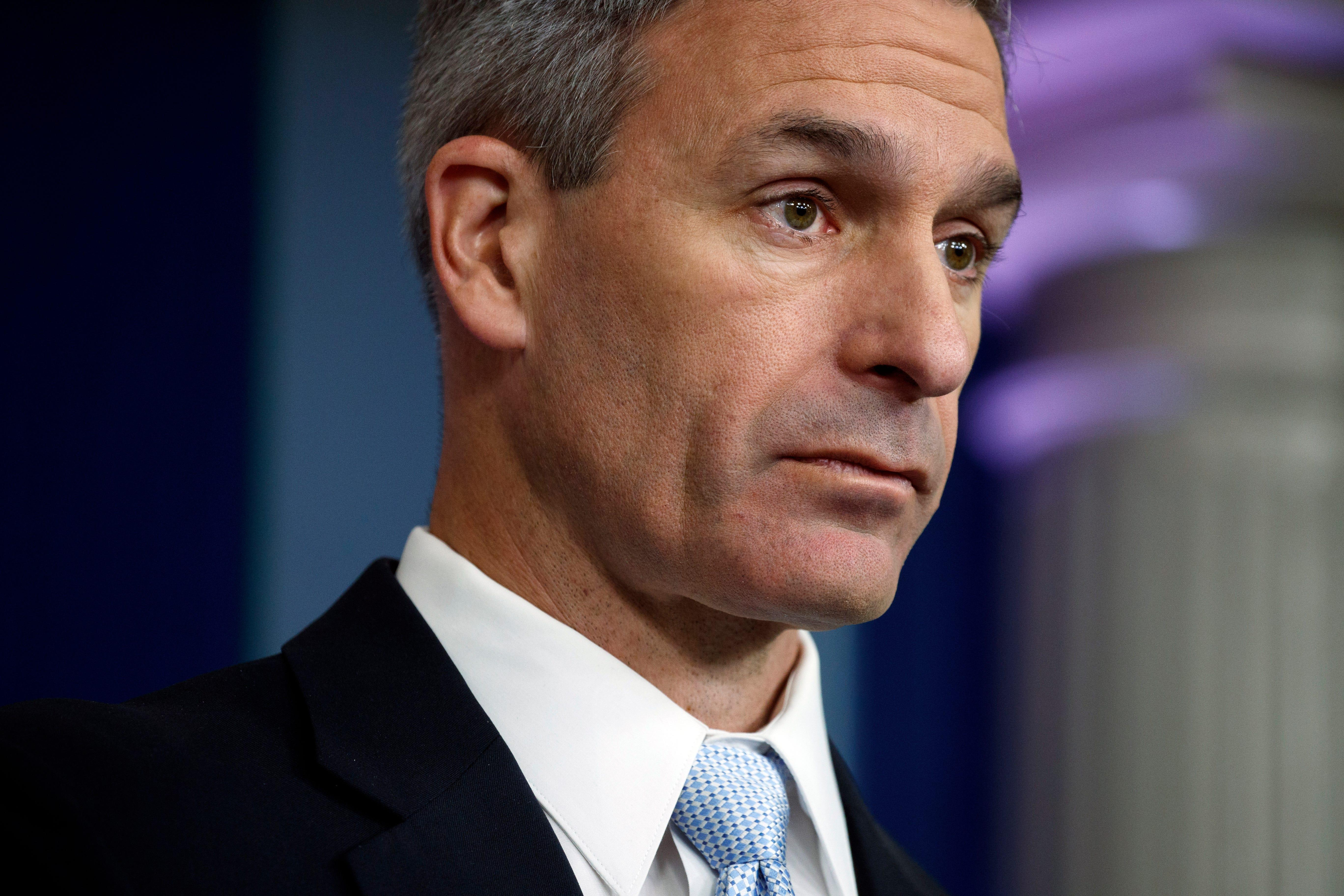 Immigration official Ken Cuccinelli: Statue of Liberty poem refers to immigrants from Europe